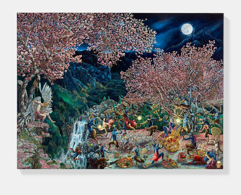 Dreams, Fantasies, Nightmares: Raqib Shaw, Lu Song and Kenny Scharf