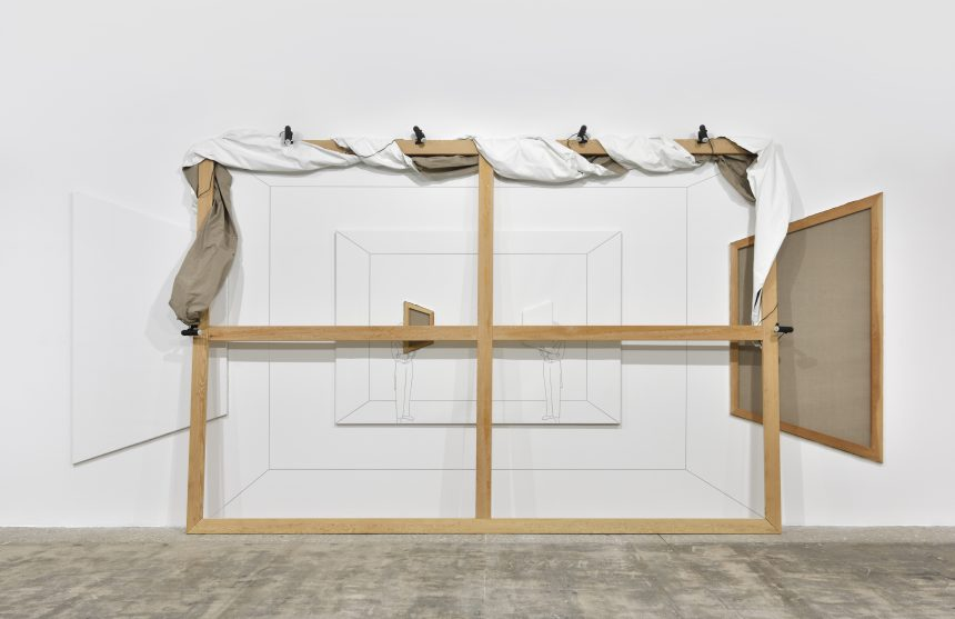 """Online and Looking In: Giulio Paolini's """"Belvedere"""" at Marian Goodman Gallery"""