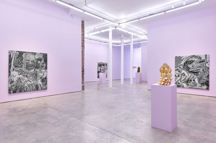Once Twice Exhibition Review: Ry David Bradley and Hanna Hansdotter at The Hole NY