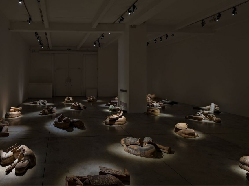 Exhibition Review of Mimmo Paladino's I Dormienti at Cardi Gallery, Milan