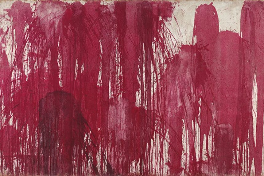 Final weeks: Hermann Nitsch at the new Albertina Modern