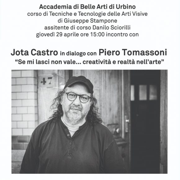 Jota Castro in Conversation With Piero Tomassoni