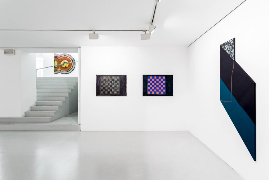 Ana Cardoso in Painting: observation field at Cristina Guerra Contemporary