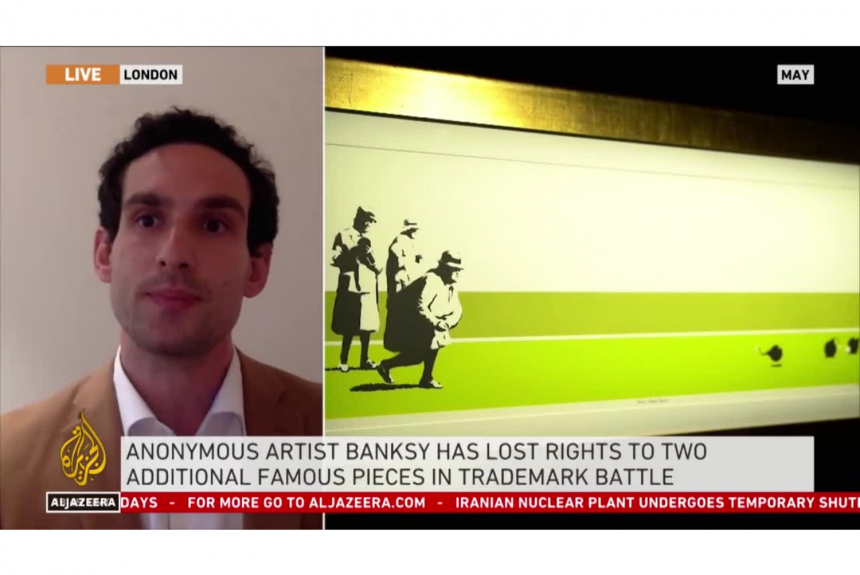 Artvisor's Nico Epstein Weighs in on Banksy's Copyright Claims
